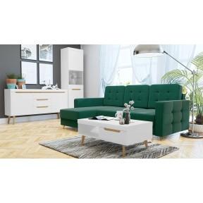 Wohnzimmer-Set Nirus VI + Ecksofa Maline
