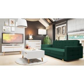 Wohnzimmer-Set Nirus VII + Sofa Maline