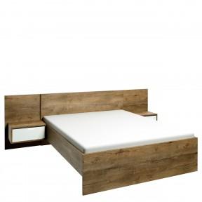 Bett mit Nachttische Ingrid L1 IG04