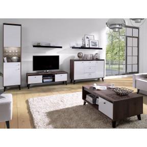 Wohnzimmer-Set Naviedo Gloss I