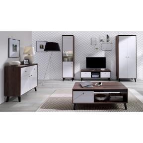 Wohnzimmer-Set Naviedo Gloss II