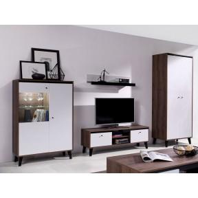 Wohnzimmer-Set Naviedo Gloss III