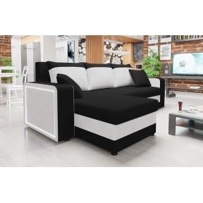 Ecksofa Feneros mit zwei Bettkasten und Schlaffunktion