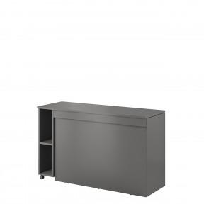 Schreibtisch mit Beischrank Mono M 04