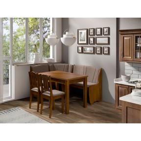 Eckbank + Tisch und zwei Stühle Platon