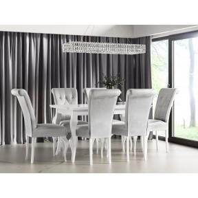 Essgruppe: Tisch Julia + Stühle ST63 (7-teilig)