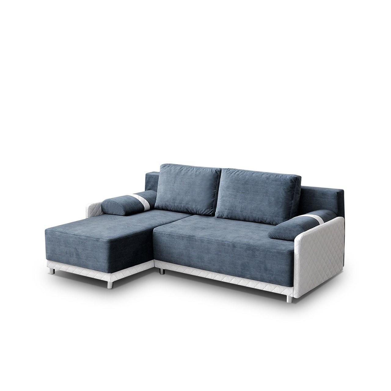 ecksofa rino mit schlaffunktion und bettkasten mirjan24. Black Bedroom Furniture Sets. Home Design Ideas