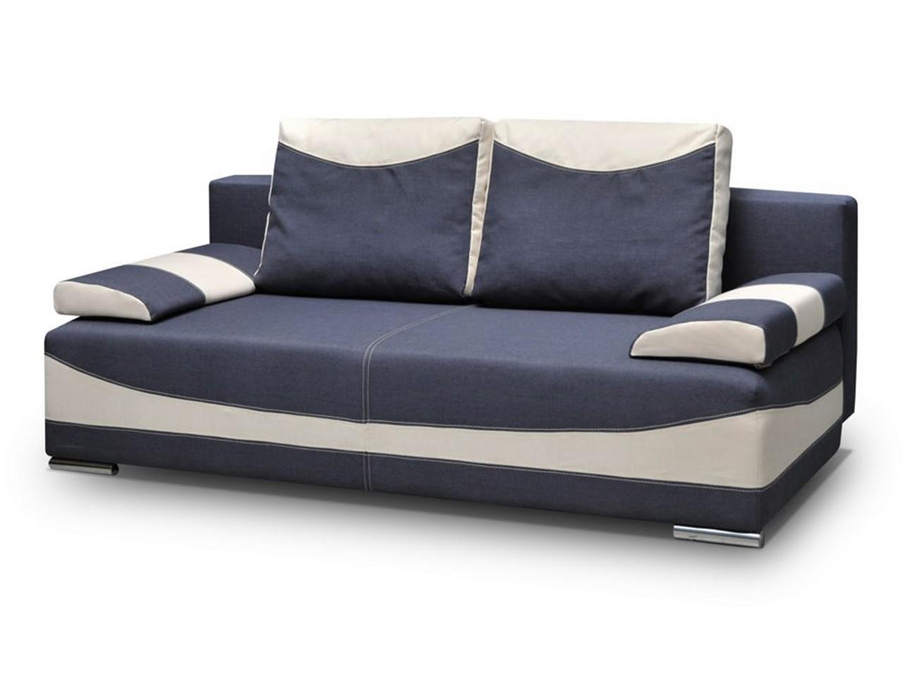 sofa mit schlaffunktion meggi in diversen stoffen und. Black Bedroom Furniture Sets. Home Design Ideas