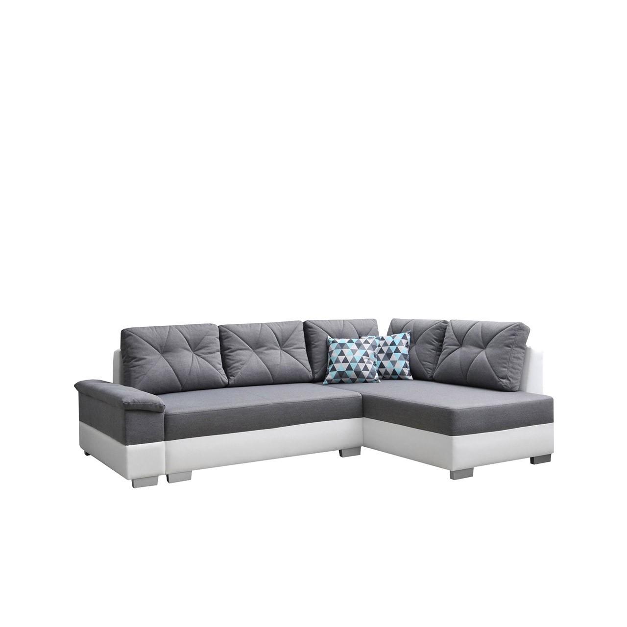 ecksofa forest mit schlaffunktion und bettkasten mirjan24. Black Bedroom Furniture Sets. Home Design Ideas