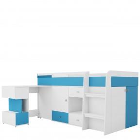 Jugendbett mit Schreibtisch Oblada OB21