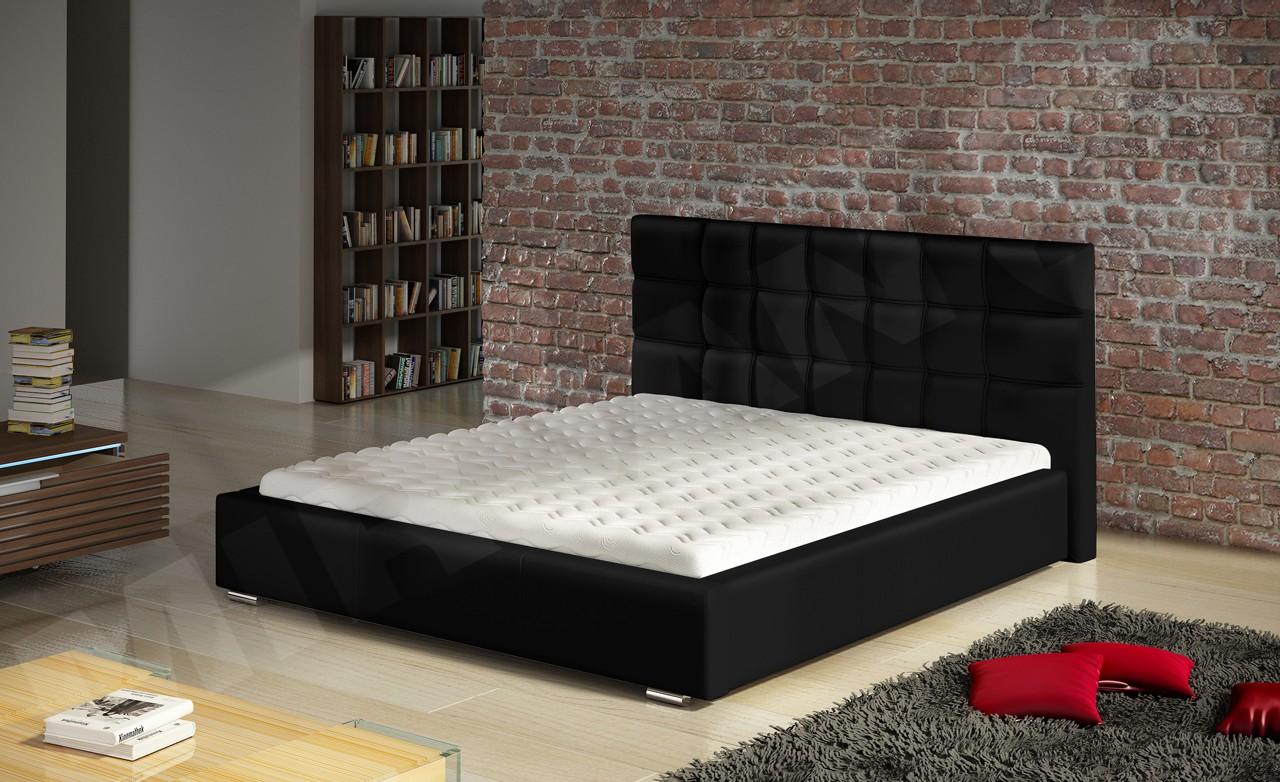 polsterbett eliza mit lattenrost und matratze mirjan24. Black Bedroom Furniture Sets. Home Design Ideas