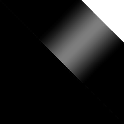 schwarz / schwarz Hochglanz + weiß