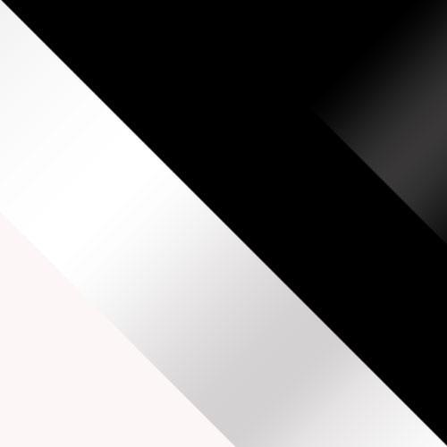 weiß / weiß Hochglanz + schwarz / schwarz Hochglanz