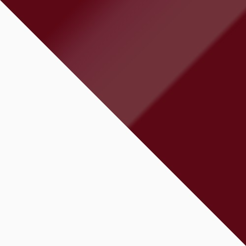 weiß / burgund Hochglanz