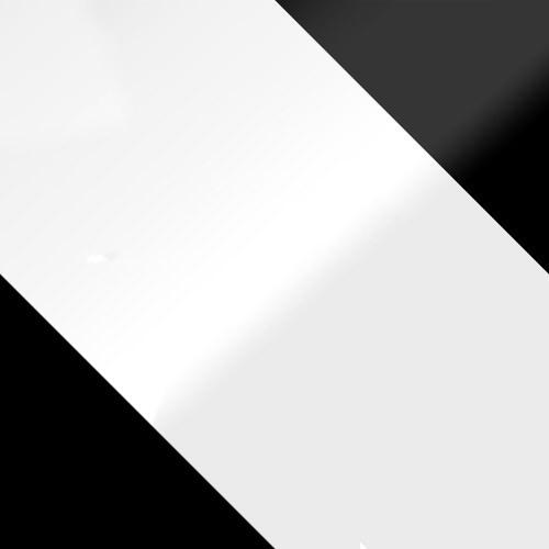 schwarz + weiß Hochglanz / weiß Hochglanz + schwarz Hochglanz