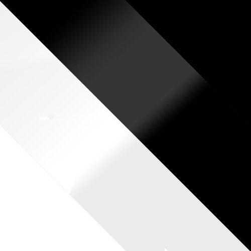 weiß + weiß Hochglanz / schwarz Hochglanz + schwarz
