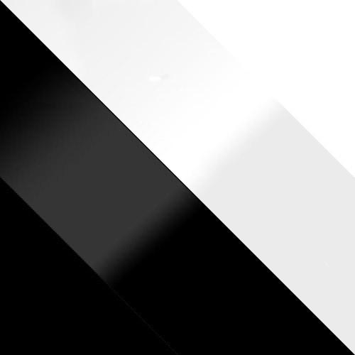 schwarz + schwarz Hochglanz / weiß Hochglanz + weiß