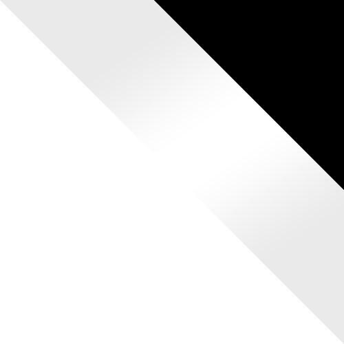 weiß / weiß Hochglanz + schwarz