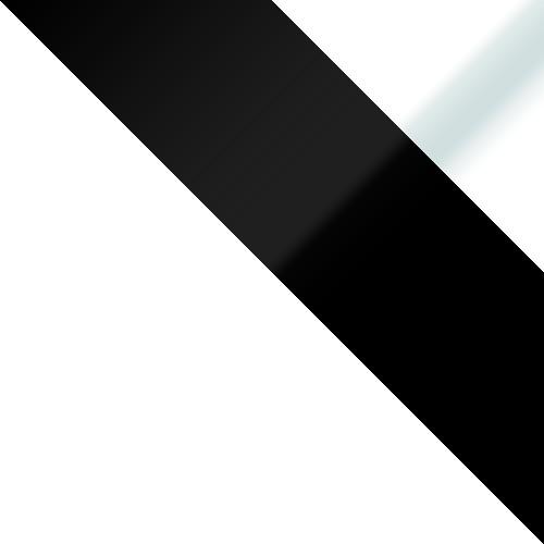 weiß / schwarz glass + weiß glass