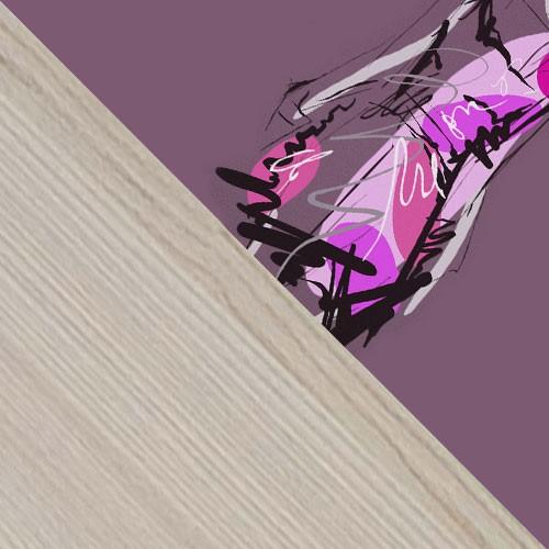 esche / violett + Fashion