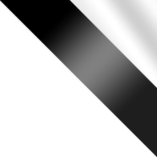 weiß / schwarz glas + spiegel