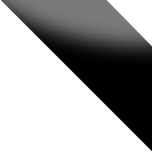 weiß / schwarz glas Hochglanz