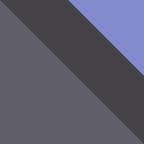aschgrau / grafit + violett