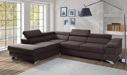 ecksofa ausziehbar f r das wohnzimmer ber 200 modelle mirjan24. Black Bedroom Furniture Sets. Home Design Ideas